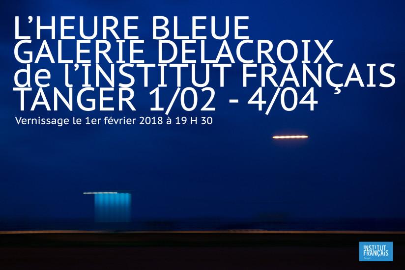 L'Heure Bleue à Tanger du 1er février au 4 avril 2018 à la Galerie Delacroix de l'Institut Français ! Vernissage le jeudi 1er février à partir de 19h30 Commissariat : Bernard Collet https://if-maroc.org/tanger/evenements/juliette-parisot/